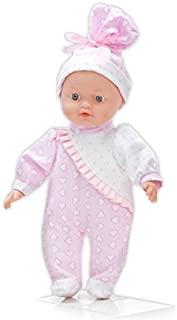 """Mozlly Toys & Games Crying Baby Katie Doll, 11"""" Battery Operated Dolls, Super Soft Huggable Decorative Excellent Gift Party Favors Props Surprise Bag Items, Infant Toddler Girls Pretend Play"""