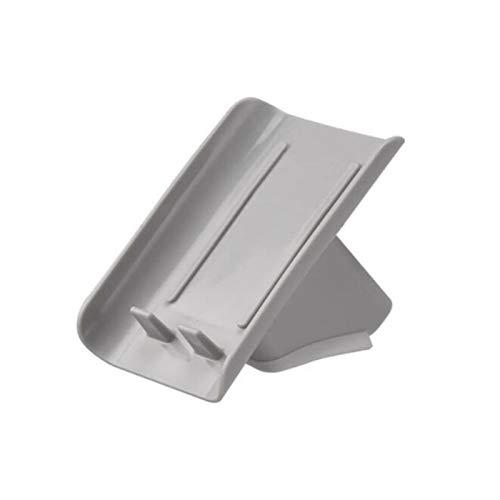 Caja de jabón Caja de jabón de baño de baño de jabón de drenaje de jabón de rack de contenedores de almacenamiento de baños del hogar Se usa en el baño para mantener el jabón seco. ( Color : Gray )