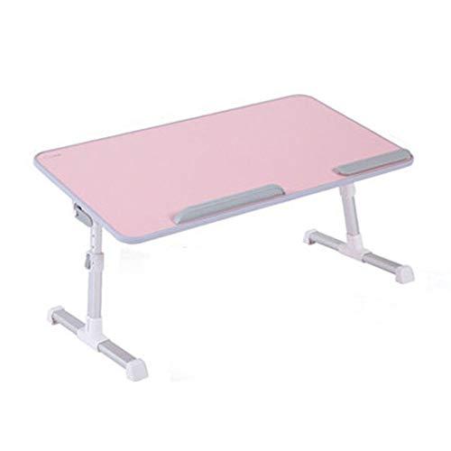 Lapdesks SHPING Laptop-Tisch, Haushalt Falten, Massivholz rutschfest, Laptop, Schreibtisch, Schlafsaal Einstellbar, Fest Und Leicht Zu Reinigen (Color : C)