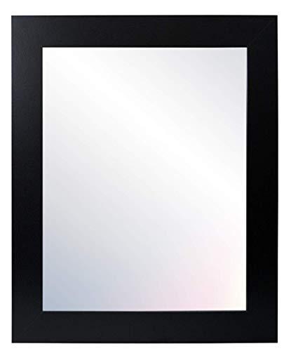 Chely Intermarket - Espejo de Pared Cuerpo Entero 30x40cm (Negro) MOD-113   Variedad de TAMAÑOS  con Forma Rectangular para salón, recibidor, Comedor, Dormitorio, Acabado Elegante