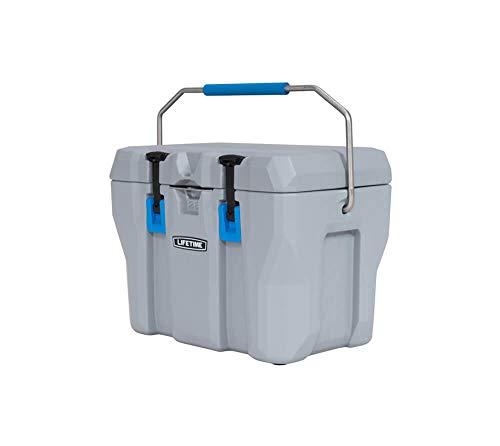 LIFETIME Kühlbox, Eisbox, Campingbox, Kühlschrank, Eistruhe 26,5 Liter mit Tragegriffen