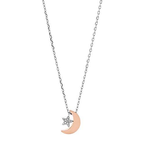Fossil JOF00518998 - Collar de acero inoxidable para mujer