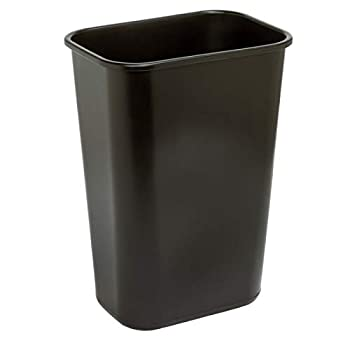Highmark Office Depot Wastebasket 10.25 Gallons 20 1/2in.H x 15 1/2in.W x 11 1/2in.D Black WB0196
