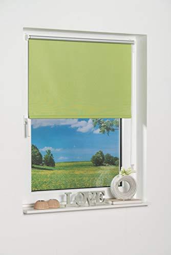 K-Home Klemmfix Mini Store occultant, Tissu, Vert, 40 x 150 cm