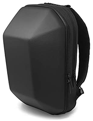 GDM SPECTER motorcycle backpack - Water Resistant - Speaker Compatible Hard Shell