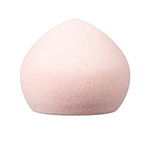12pcspeach forme rose maquillage éponge ultra doux visage outil cosmestic beauté - rose