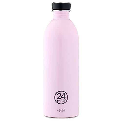 Trinkflasche 'Urban Bottle Pastel' aus Edelstahl 1 Liter, Farbe:Candy Pink