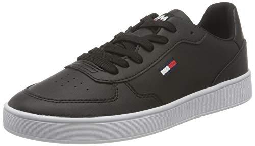 Tommy Hilfiger Damen Tommy Jeans Cupsole Sneaker, Schwarz, 39 EU
