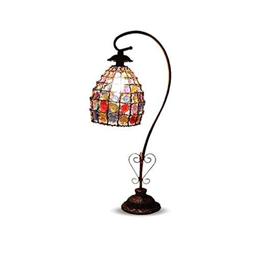 Lámpara de Mesa Rústica de Granja Tabla creativo retro de la lámpara LED Cafe Bar Restaurante Tabla dormitorio de la lámpara lámpara de cabecera Interruptor de dos modos son opcionales Lámparas de mes