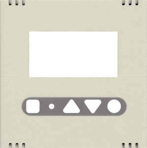 Hager Abdeckung cre WYA751 für RT-Regler kallysto Abdeckung/Bedienelement für Installationsschalterprogramme 3250617021951