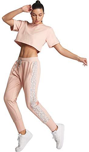FITTIN Leggings de yoga para mujer con cordón en la cintura, pantalones deportivos con bolsillos para ejercicio - - Small