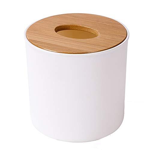 Huishoudelijke bamboe en houten tissuedoos, creatieve woonkamer salontafel servetdoos, papieren handdoekbuis, eenvoudige ladedoos,M1