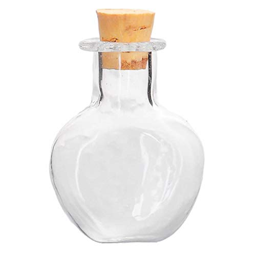 (J) 29x10mm魔法のボトル ガラス小瓶 コルク栓 パーツ 透明 アクセサリーパーツ 部品 材料 グラス DIY 手芸 ハンドメイド アクセサリー 人気
