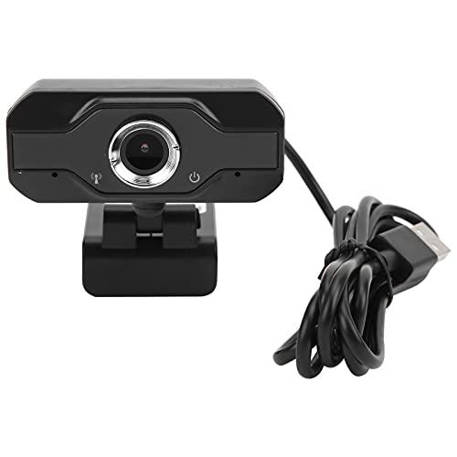 ROMACK Cámara Web USB, cámara de videoconferencia Micrófono Incorporado con función de reducción de Ruido para videoconferencias, transmisiones en Vivo, etc.