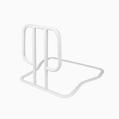 Handicap EHBO-post Devices Bed Rail, RVS bed rails for ouderen Nursing Home Bedroom Safety & Assisteren Rails (Color : White)