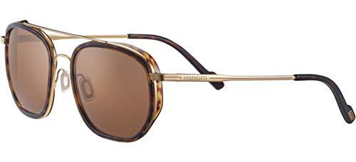 serengeti Gafas de sol Boron Gold Dark Tortoise/Mineral Polarized 56/21/145 para hombre