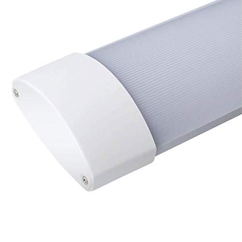 LED Lichtbandsystem 50W 150cm kaltweiß 6000K 230V IP20 komplettset Wannenleuchte Kellerlampe LED Werkstattlampe Kellerleuchte küchenleuchte Garagenlampe Lichtleiste Unterbauleuchte Werkbankleuchte