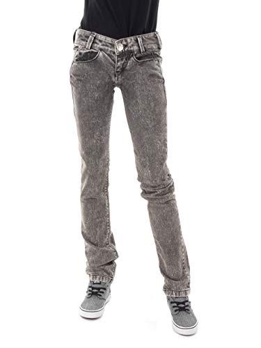 Killah Jeans Pantaloni EBEL l00m31 Nero Very vestibilità Slim Tasca Cinque Nuovo - Nero, 24