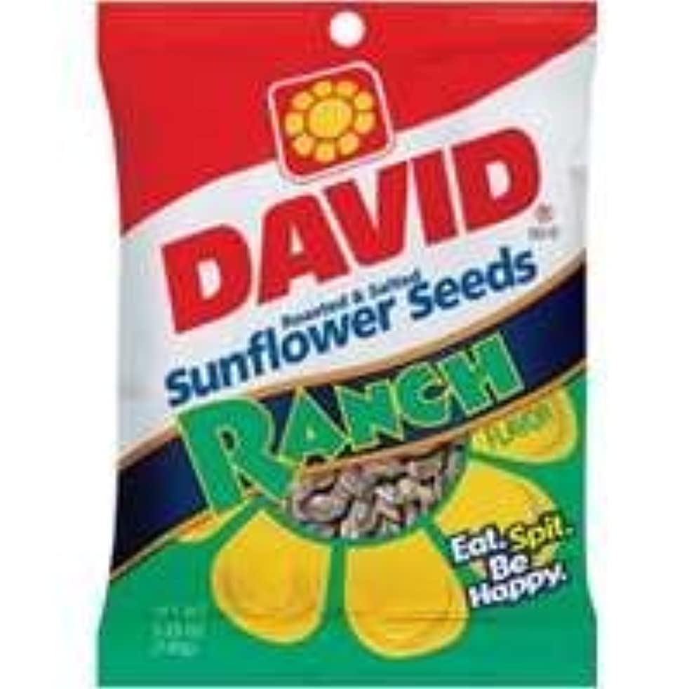 David's Sunflower Seeds Ranch (Pack of 10)