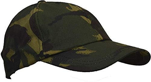 Jiushilun Mütze Uni-Sex Wax Baseball Cap Waxed Cotton One-Size-Camo A