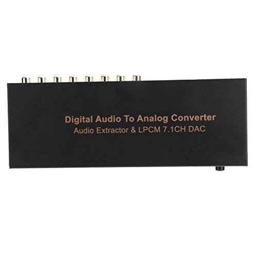 Extractor de Audio Extractor de Audio LPCM Extractor de Audio Digital Extractor de Audio de 7.1 Canales(European Standard (100-240v))