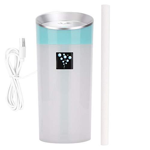 Facial Sprayer Portable, Mini Desktop Anion Aromatherapie Luchtreiniger Luchtbevochtiger USB Etherische olie Diffuser Blauw voor huidverzorging Home Spa Hydraterende