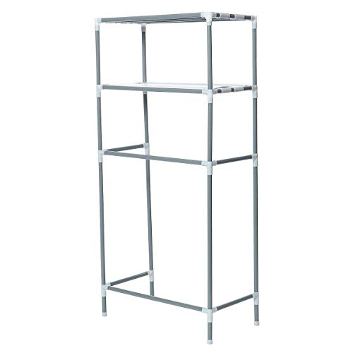 LENASH 2 Tier O er The WC Storage Rack Shelf Bathroom Space Saver Towel Organizer .Strumenti e Accessori utili