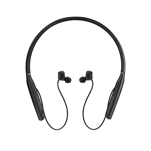 EPOS SENNHEISER Adapt 460T In-Ear Bluetooth Nackenbügel Headset mit ANC inkl. USB Dongle und Etui Zertifiziert für Micrososft Teams