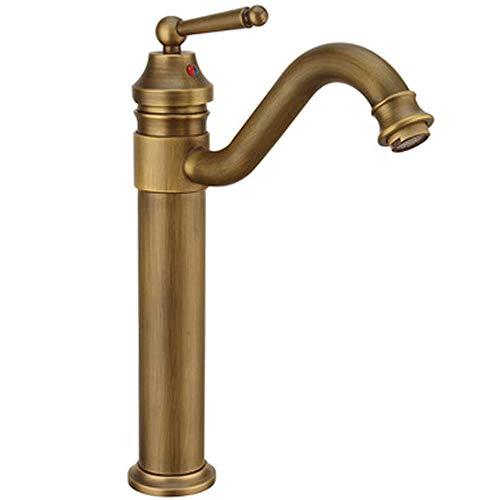 WXH-00 Grifo del lavabo de altos cuarto de baño sobre el mostrador de la cuenca del lavabo del cuenco del grifo del grifo de latón