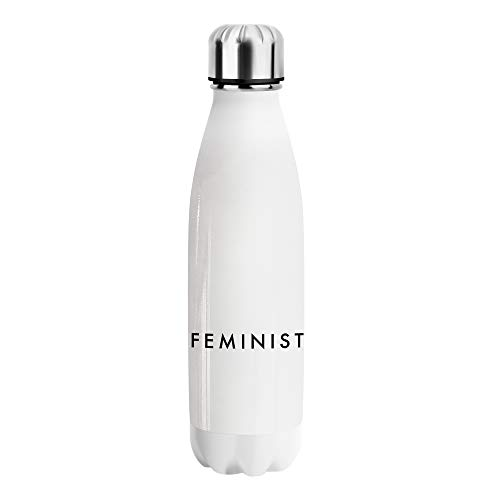 Desconocido Feminist Women Rights Revolution Water Bottle CO271 Botella de Agua Stainless Steel Funny Insulated 500ml Thermos For Hot and Cold Sports Gym Drink Flask