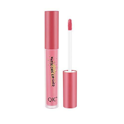 Muyise Matte Lipstick 1PC Lipstick Lasting Waterproof Beauty Makeup Sales Glossy Non-Sticky 23g(Multicolor,C)