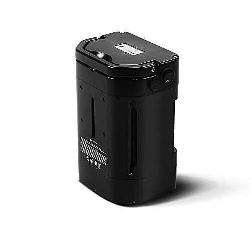 YOSE POWER Ebike Batterie 36V 10Ah (370Wh) für Ansmann,Fahrrad Akku 36V, Ersatzakku für E-Bike Pedelec, Schwarz