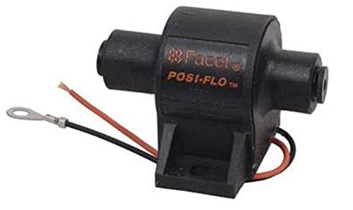 zy fuel pumps Rareelectrical NEW 12V FACET POSI-FLO� SOLID STATE FUEL PUMP COMPATIBLE WITH 2.5-4PSI REPLACES FACET 60300N