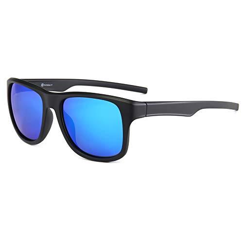 SUNGAIT Gafas de sol polarizadas Hombre Retro UV 400 protección conducción...