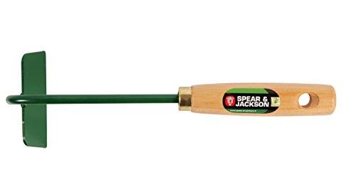 Spear & Jackson 50578 Binette à Fleurs Manche Bois, Vert