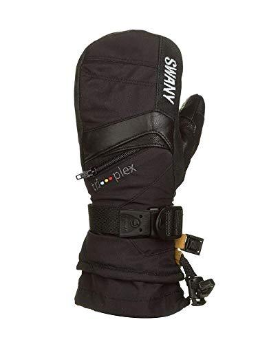 Swany X-Change Skihandschuhe für Herren, isoliert, Größe L, Schwarz