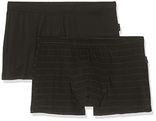 ESPRIT Herren JONKO 2 2shorts Boxershorts, Schwarz (Black 001), X-Large (Herstellergröße: XL) (2er Pack)