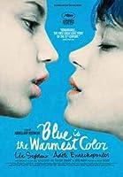 ポスター A4 パターンB アデル、ブルーは熱い色 光沢プリント