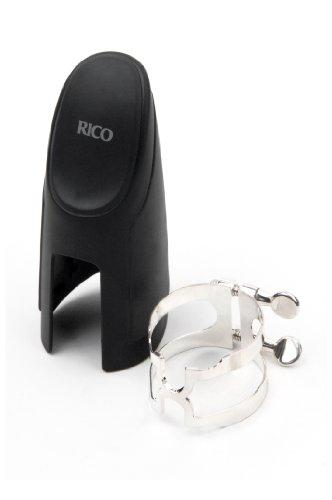 RICO H-Blattschraube und Kapsel für Bass-Klarinette, versilbert