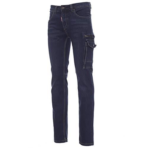 CHEMAGLIETTE! Pantaloni da Lavoro Uomo Jeans Elasticizzati con Tasconi Laterali Payper West