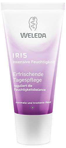WELEDA Iris Erfrischende Tagespflege, reichhaltige Naturkosmetik Feuchtigkeitspflege zur intensiven Pflege von trockener Haut, Creme zum Schutz vor Umwelteinflüssen (1 x 30 ml)
