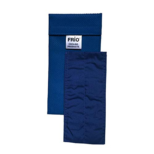 Frio Cooling Wallet - Duo - Blue - Keep Insulin Cool More Than 45 Hours Without Ever Needing Refrigeration! Accept NO Imitation!-Low Shipping Rates-