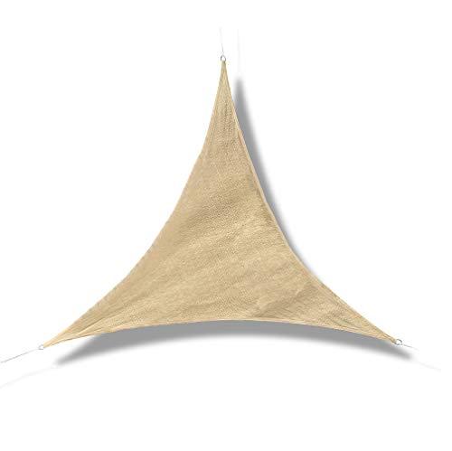 GE-UZ Toldo Vela Triangular | 3,6x3,6x3,6 | Toldo Vela De Sombra |...
