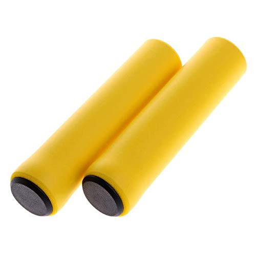 JKC Silicone Cycling Bicycle Handlebar Grips Outdoor MTB Mountain Bike and BMX Bicycle Anti-Slip Strong Support Grips Bike Part|Standard, Fat or Single Twist Shift Compatible