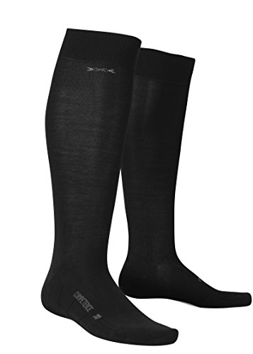 X-Socks Business Competence Chaussettes Homme, Noir, 37-38