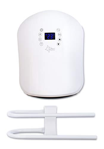 SUNTEC 15236 Badschnellheizer Heat Stream Spa 2000 Design LED, W, Weiß