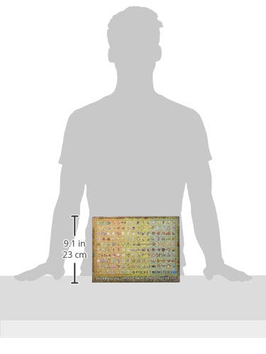 1000ピースジグソーパズルポケットモンスターポケモン図鑑No.001~151(51x73.5cm)