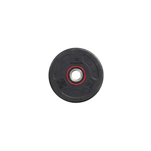 Domyos Peso de Caucho de Disco 28 mm - 2,5 Kg