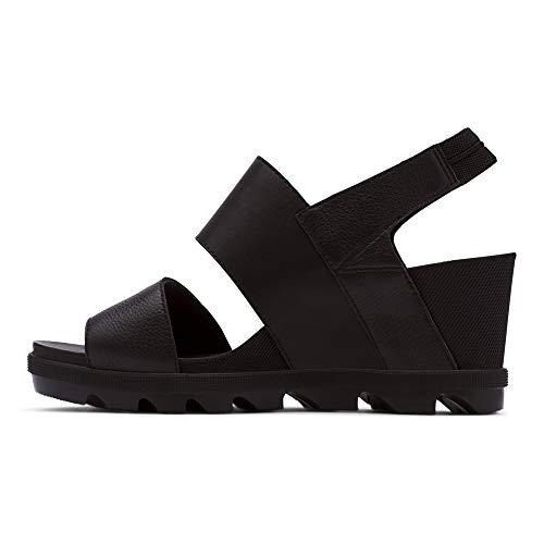 Sorel Women's Joanie II Slingback Wedge Sandal - Black - Size 10.5