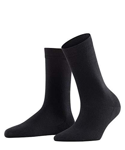 Falke Damen Socken Softmerino W SO-47488, Schwarz (Black 3009), 37-38